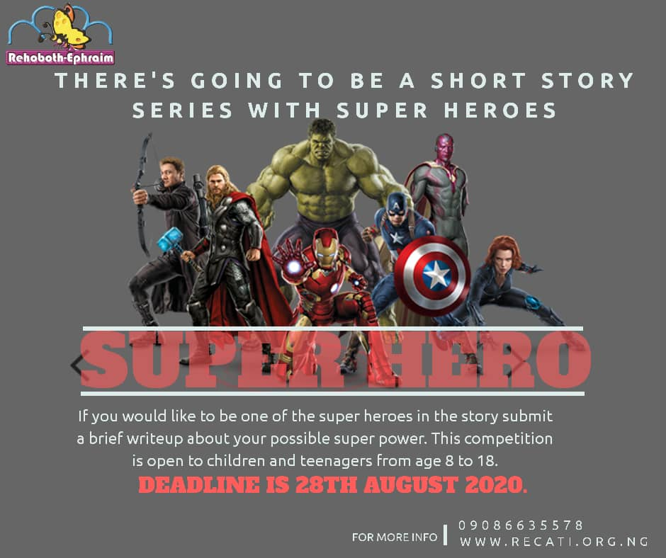 Super Hero Competition